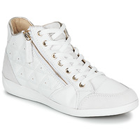 Schoenen Dames Hoge sneakers Geox D MYRIA Wit