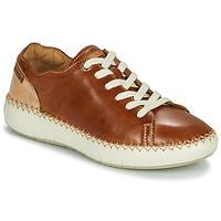 Schoenen Dames Lage sneakers Pikolinos MESINA W6B Bruin / Beige