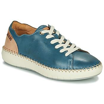 Schoenen Dames Lage sneakers Pikolinos MESINA W6B Blauw / Roze