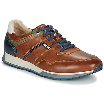 Schoenen Heren Lage sneakers Pikolinos CAMBIL M5N Bruin / Marine