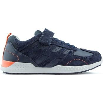 Schoenen Kinderen Lage sneakers Geox J SNAKE 2 sneakers NAVY