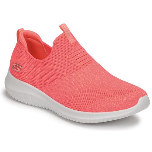 Schoenen Dames Fitness Skechers ULTRA FLEX Roze