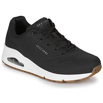 Schoenen Dames Lage sneakers Skechers UNO STAND ON AIR Zwart