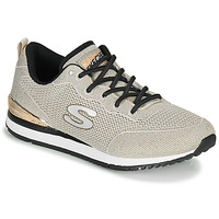 Schoenen Dames Lage sneakers Skechers SUNLITE MAGIC DUST Grijs / Goud