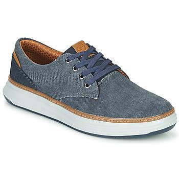Schoenen Heren Lage sneakers Skechers MORENO EDERSON Blauw / Bruin