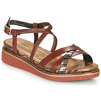 Schoenen Dames Sandalen / Open schoenen Tamaris EDA Bruin