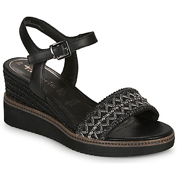 Schoenen Dames Sandalen / Open schoenen Tamaris ALIS Zwart