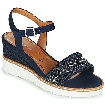 Schoenen Dames Sandalen / Open schoenen Tamaris ALIS Marine