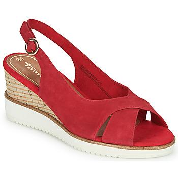 Schoenen Dames Sandalen / Open schoenen Tamaris ALIS Rood