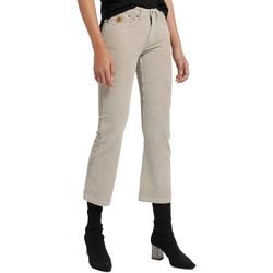 Textiel Dames 5 zakken broeken Lois Pantalon Velours Beige  Pana-Coty 582 Beige