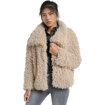 Textiel Dames Mantel jassen Lois Veste Beige  Dolly-Alicia 503 Beige