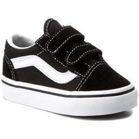 Schoenen Kinderen Lage sneakers Vans OLD SKOOL Noir