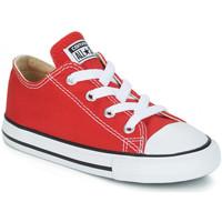 Schoenen Kinderen Lage sneakers Converse CHUCK TAYLOR Rouge