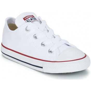 Schoenen Kinderen Lage sneakers Converse CHUCK TAYLOR Blanc