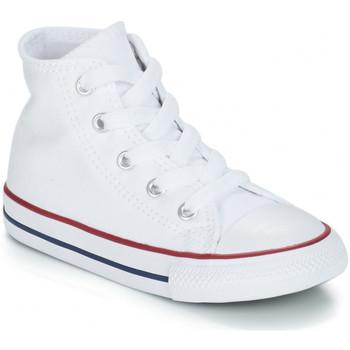Schoenen Kinderen Hoge sneakers Converse CHUCK TAYLOR Blanc