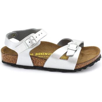 Schoenen Meisjes Sandalen / Open schoenen Birkenstock RIO Argent