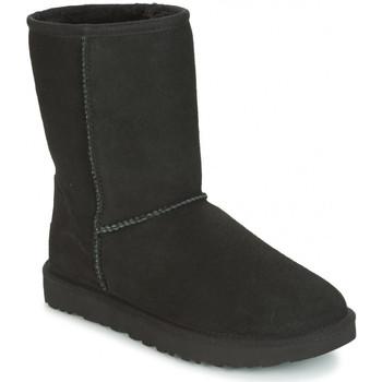 Schoenen Dames Snowboots UGG CLASSIC SHORT Black