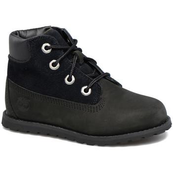 Schoenen Kinderen Laarzen Timberland POKEY PINE 6IN BOOT Noir