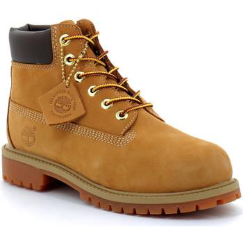 Schoenen Kinderen Laarzen Timberland 6-inch premium Wheat-jaune