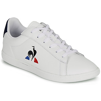 Schoenen Kinderen Lage sneakers Le Coq Sportif COURTSET GS Wit