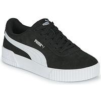 Schoenen Dames Lage sneakers Puma CARINA Zwart