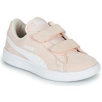 Schoenen Kinderen Lage sneakers Puma Puma Smash v2 SD V PS Roze