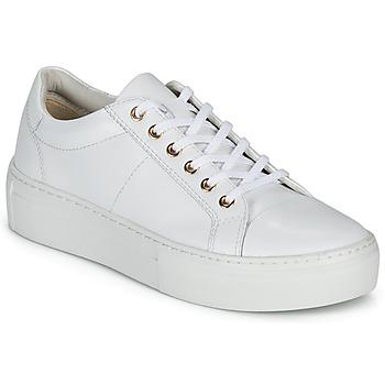 Schoenen Dames Lage sneakers Vagabond ZOE PLATFORM Wit