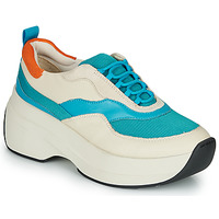 Schoenen Dames Lage sneakers Vagabond SPRINT 2.0 Beige / Blauw