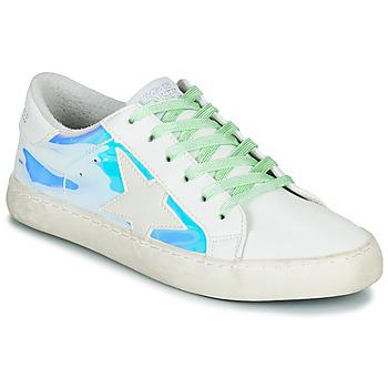Schoenen Dames Lage sneakers Le Temps des Cerises CITY Zilver