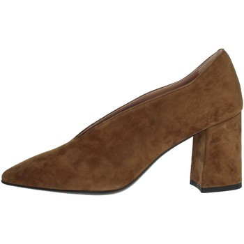 Schoenen Dames pumps Chiara Firenze 1909 Brown Taupe