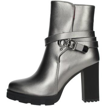 Schoenen Dames Enkellaarzen Braccialini TUA41 Grey
