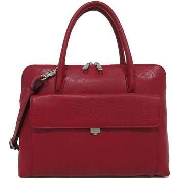Tassen Dames Computertassen Gigi Fratelli Leren Laptoptas 13.3 inch Romance Business ROM8013 Rood