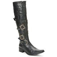 Schoenen Dames Hoge laarzen Betty London RITAC Zwart