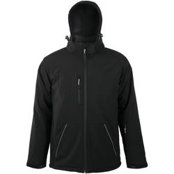 Textiel Heren Wind jackets Sols ROCK MEN WINTER SOFTSHELL Negro
