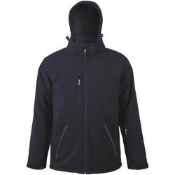 Textiel Heren Wind jackets Sols ROCK MEN WINTER SOFTSHELL Azul