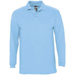 Textiel Heren Polo's lange mouwen Sols WINTER 2 CASUAL MEN Azul