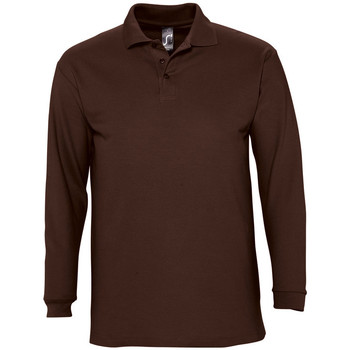 Textiel Heren Polo's lange mouwen Sols WINTER 2 CASUAL MEN Marr?3n