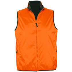 Textiel Vesten / Cardigans Sols WINNER UNISEX REVERSIBLE Naranja