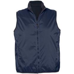 Textiel Vesten / Cardigans Sols WINNER UNISEX REVERSIBLE Azul