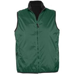 Textiel Vesten / Cardigans Sols WINNER UNISEX REVERSIBLE Verde