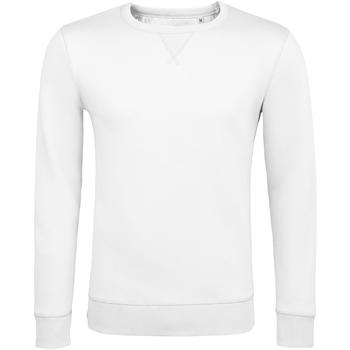 Textiel Heren Sweaters / Sweatshirts Sols SULLY CASUAL MEN Blanco