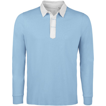 Textiel Heren Polo's lange mouwen Sols PRESTON SPORTS Azul