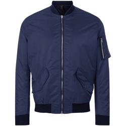 Textiel Heren Wind jackets Sols REBEL BOMBER MEN Azul
