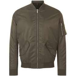 Textiel Heren Wind jackets Sols REBEL BOMBER MEN Marr?n