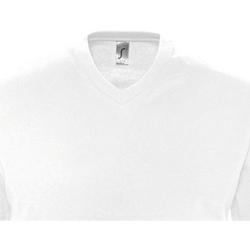 Textiel Heren T-shirts korte mouwen Sols VICTORY COLORS Blanco
