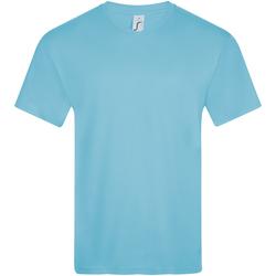 Textiel Heren T-shirts korte mouwen Sols VICTORY COLORS Azul