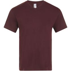 Textiel Heren T-shirts korte mouwen Sols VICTORY COLORS Violeta