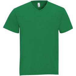 Textiel Heren T-shirts korte mouwen Sols VICTORY COLORS Verde