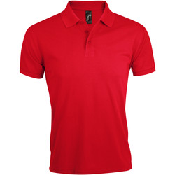 Textiel Heren Polo's korte mouwen Sols PRIME ELEGANT MEN Rojo