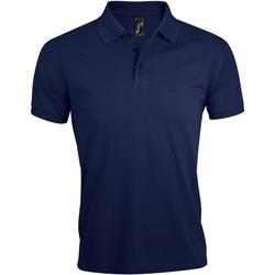 Textiel Heren Polo's korte mouwen Sols PRIME ELEGANT MEN Azul